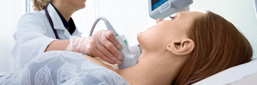 ultrahang vizsgálat, pajzsmirigy